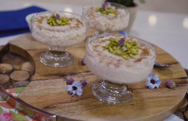 Rescued Rice Pudding